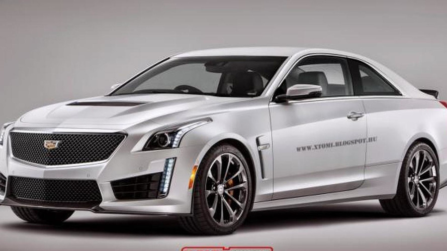 2016 Cadillac CTS-V Coupe already rendered