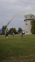 2014 Goodwood Festival of Speed sculpture celebrates Mercedes racing history