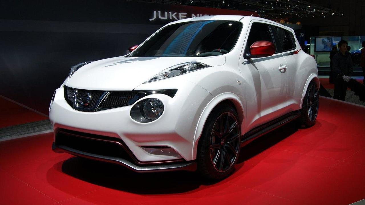 Nissan Juke Nismo Concept live in Tokyo 30.11.2011