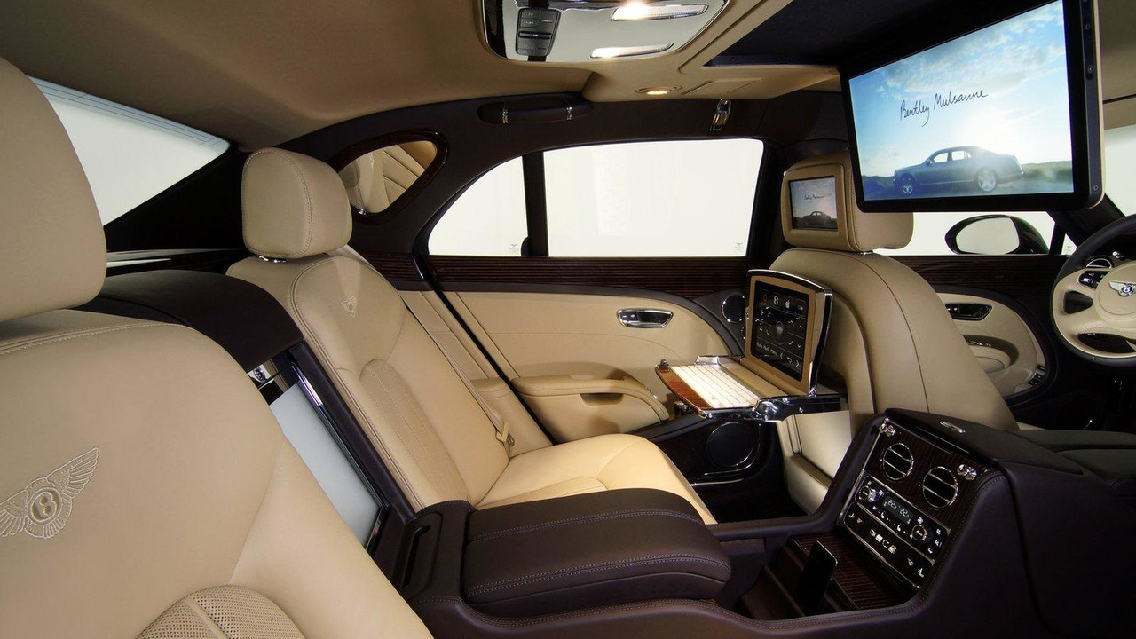 Bentley Mulsanne Executive Interior Concept 13.09.2011
