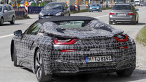 2018 BMW i8 Spyder spy photo