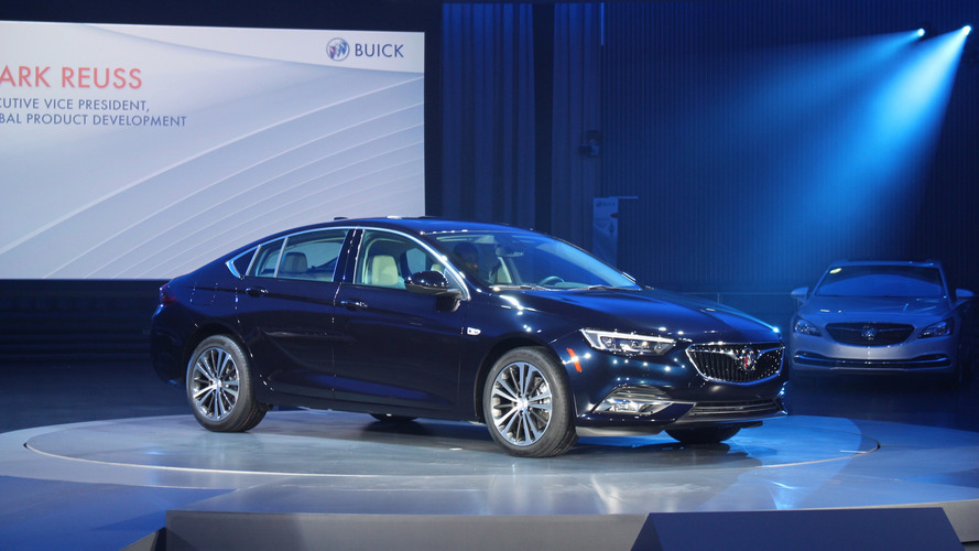 2018 Buick Regal GS V6 Model Accidentally Leaked