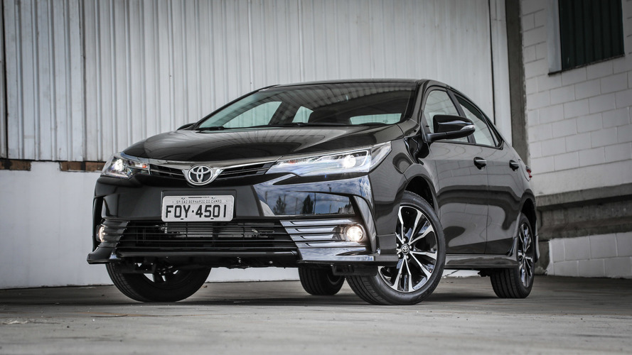 Toyota Corolla brasileiro de número 1 milhão sai da fábrica de Indaiatuba (SP)