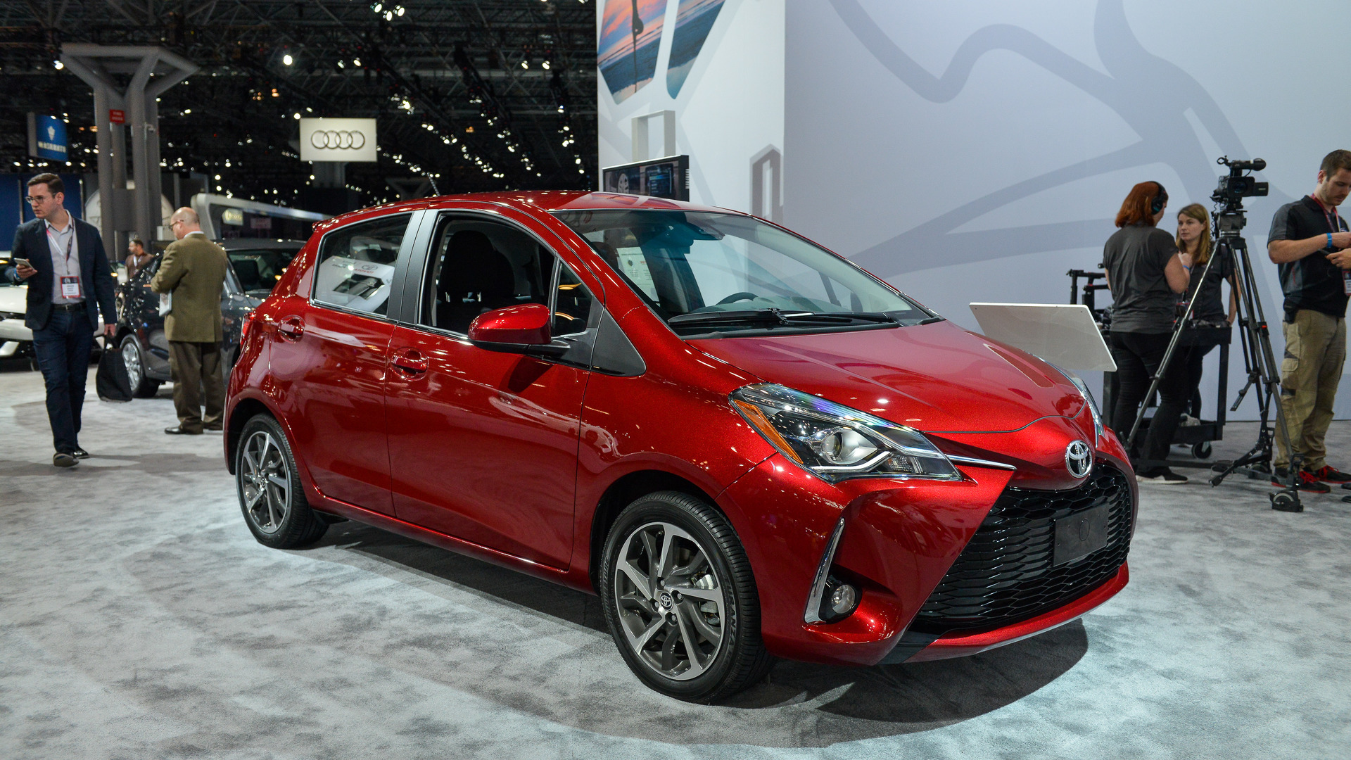 2018 Toyota Yaris Shows Updated Looks In New York