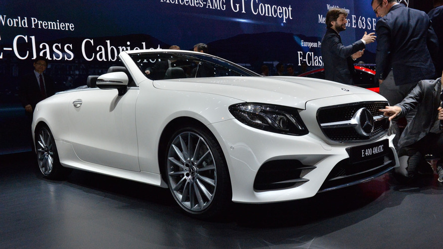 2018 Mercedes E-Class Cabriolet: Go on, take off your top