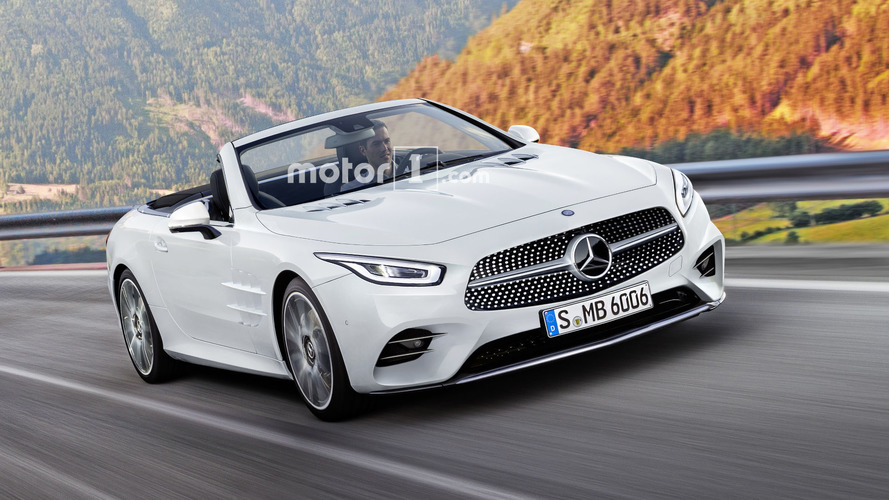 2019 Mercedes SL Render Has Us Yearning For More
