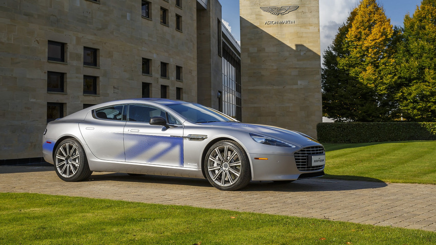 Aston Martin Rapide to ditch V12 engine and go all-electric in 2018