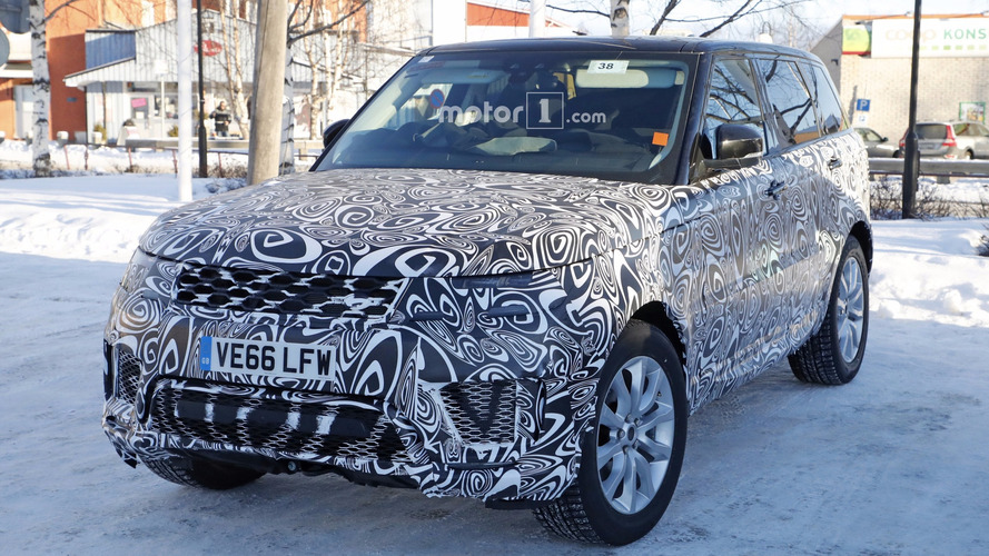 2019 Range Rover Sport plug-in hybrid spy photos