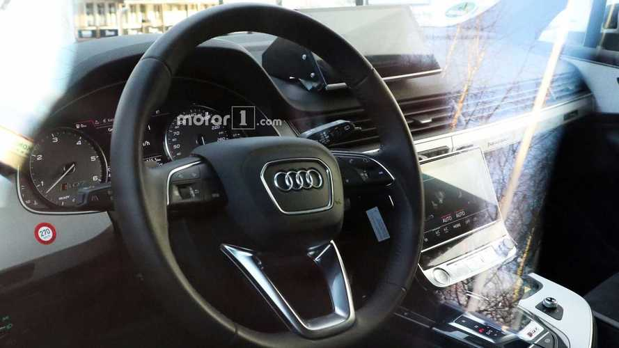 Audi Q8 Spied On The Inside Showing SQ7 Bits, Dual Touchscreens