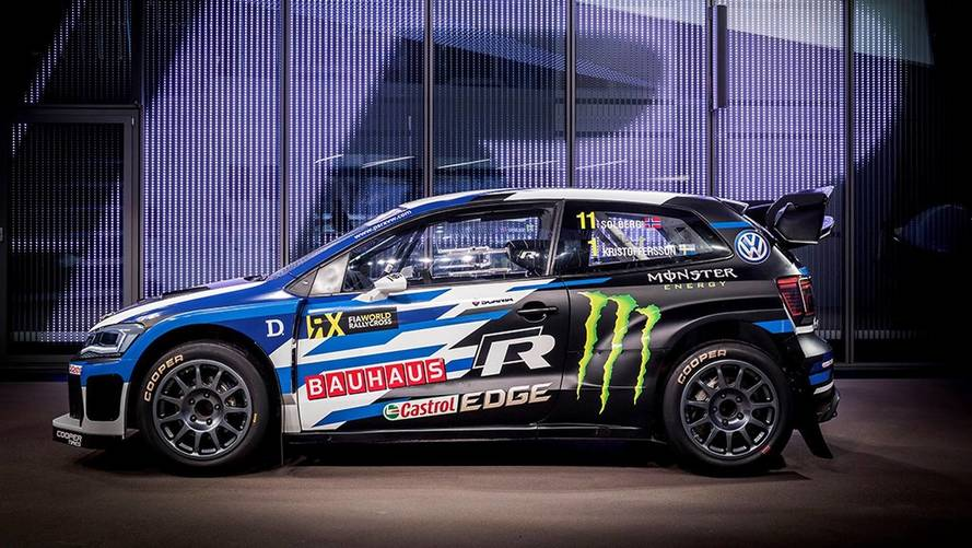 Volkswagen unveils new Polo R Supercar to defend WRX title