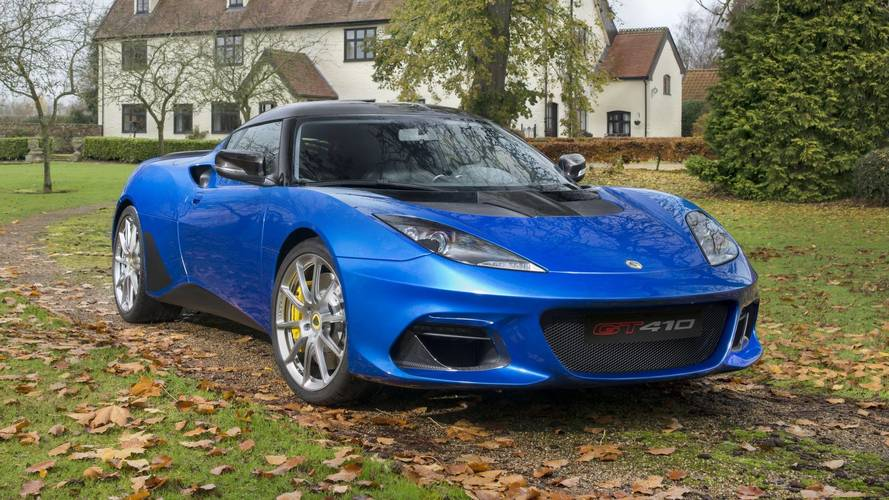 Lotus Evora GT410 Sport: deportivo aligerado