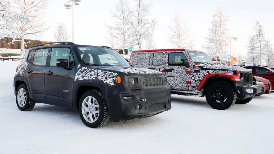 2018 Jeep Renegade, tayfasıyla objektiflere yakalandı