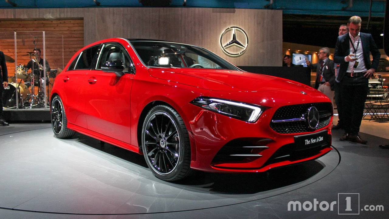 2018 mercedes a class premiere in amsterdam photos. Black Bedroom Furniture Sets. Home Design Ideas