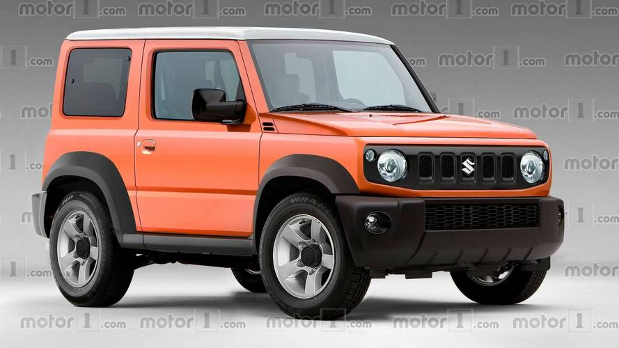 Projeção - Suzuki Jimny de nova geração ficará mais bonito