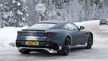 Aston Martin Vanquish Snowy Spy Photos