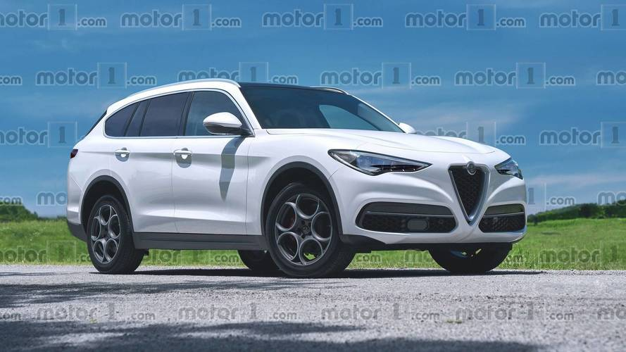 Alfa Romeo Confirmed Large SUV Imagined As Stelvio's Big Brother