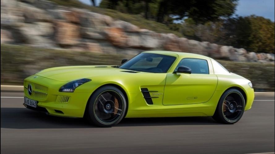 Mercedes, sei auto elettriche entro il 2018