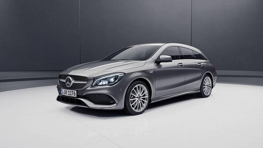 Megszokott elemekkel debütált a Mercedes CLA Shooting Brake Night Edition