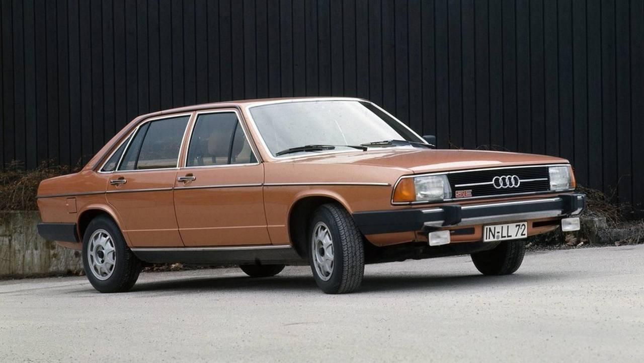 Audi 100 5E (1976)