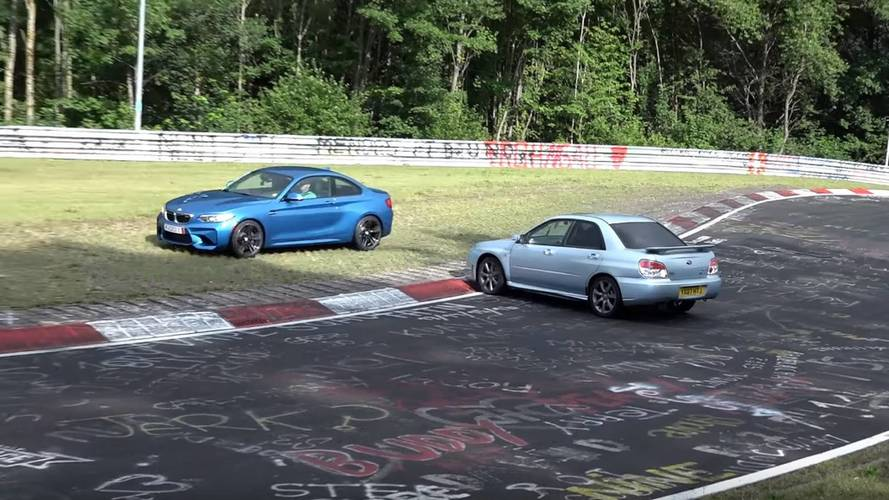 Nurburgring Near-Misses Compilation Is Surprisingly Delightful
