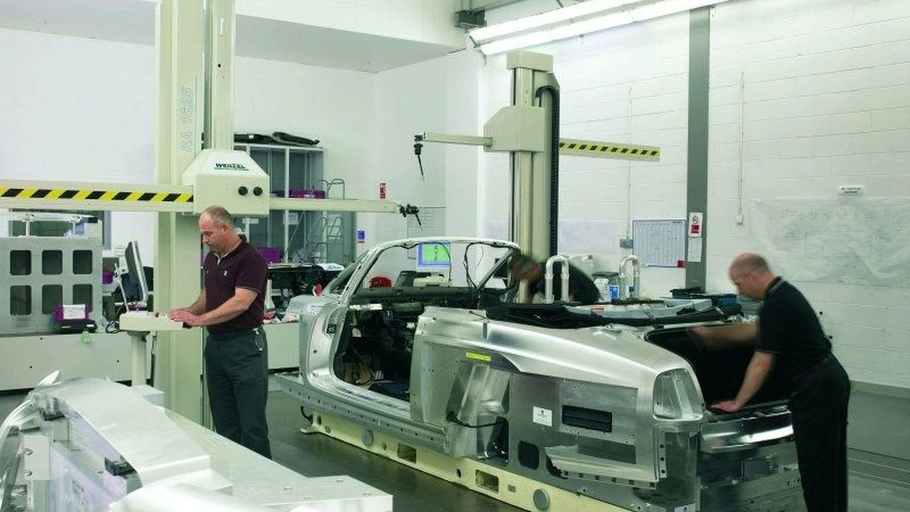 Rolls Royce's Production Facility in Goodwood, West Sussex, UK.