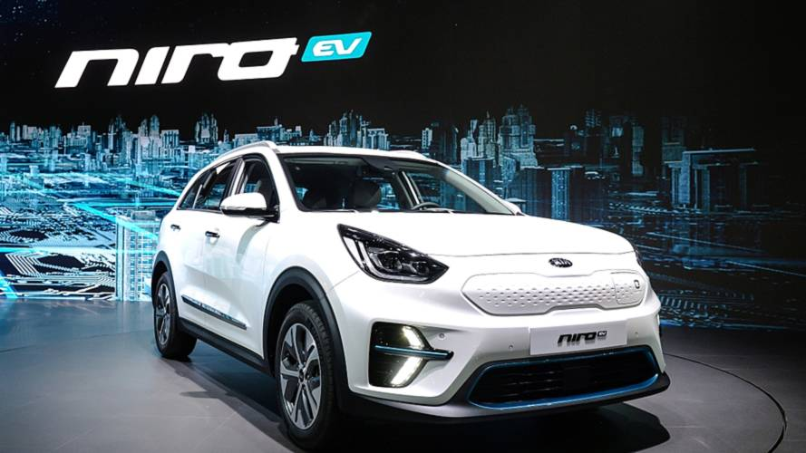 Kia Niro EV Gets Proper Debut In Korea, New Specs Released