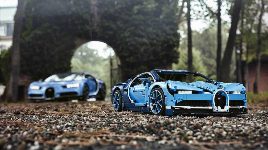 La Bugatti Chiron débarque chez Lego Technic... en 3599 pièces !