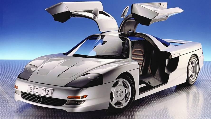 Unuttuğumuz Konseptler: 1991 Mercedes C 112