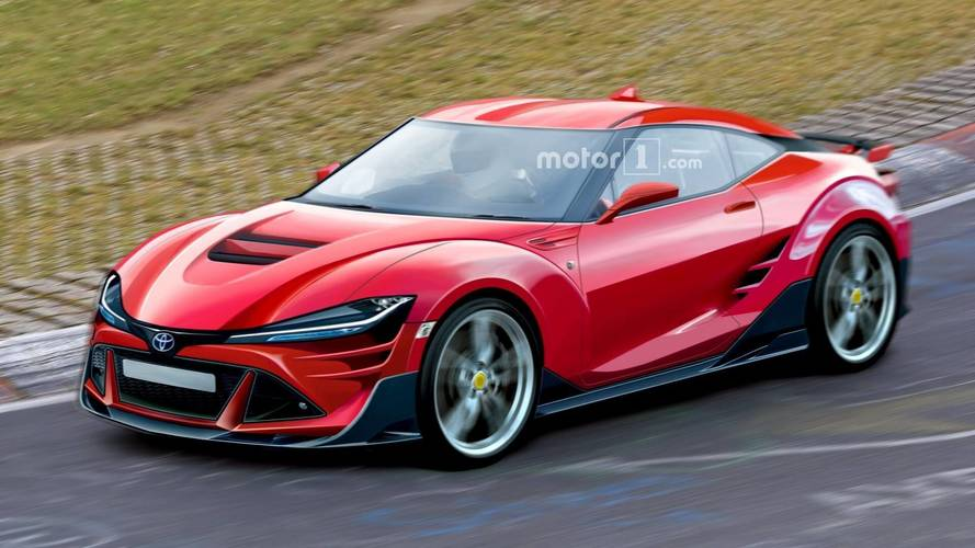 New Toyota Sports Car U003eu003e 2021 Toyota 86 Rendered With Aggressive Cues