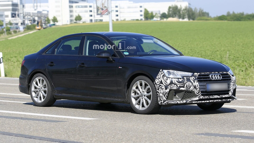 Audi A4 Sedan Facelift Makes Spy Photo Debut