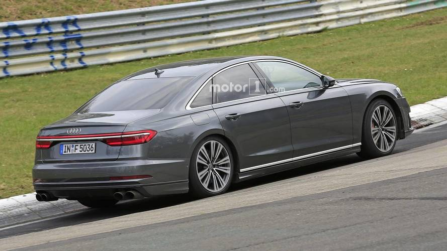 New Audi S8 Brings Its Quad Exhaust To The Nurburgring