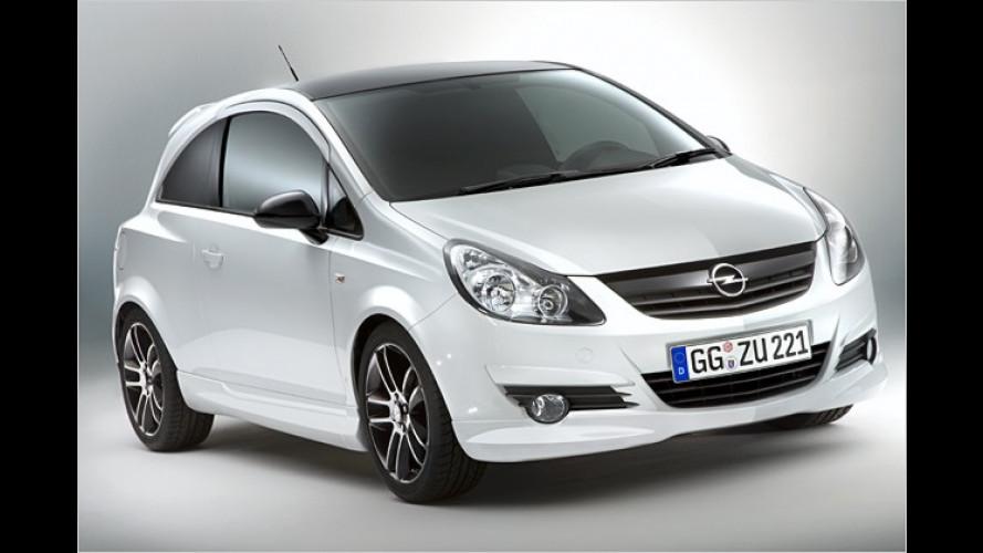 Für die Jugend: Opel Corsa Limited Edition