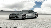 Mercedes SL 65 AMG Black Series Microsite screenshot