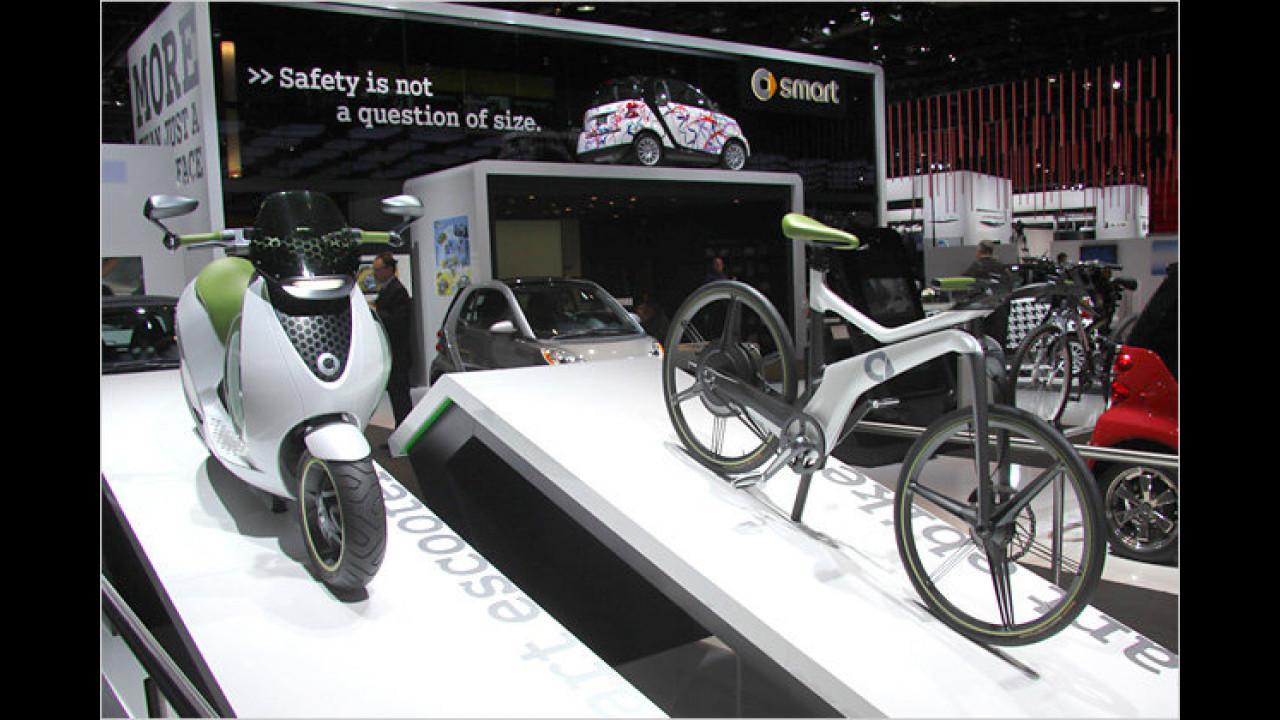 Smart escooter und ebike
