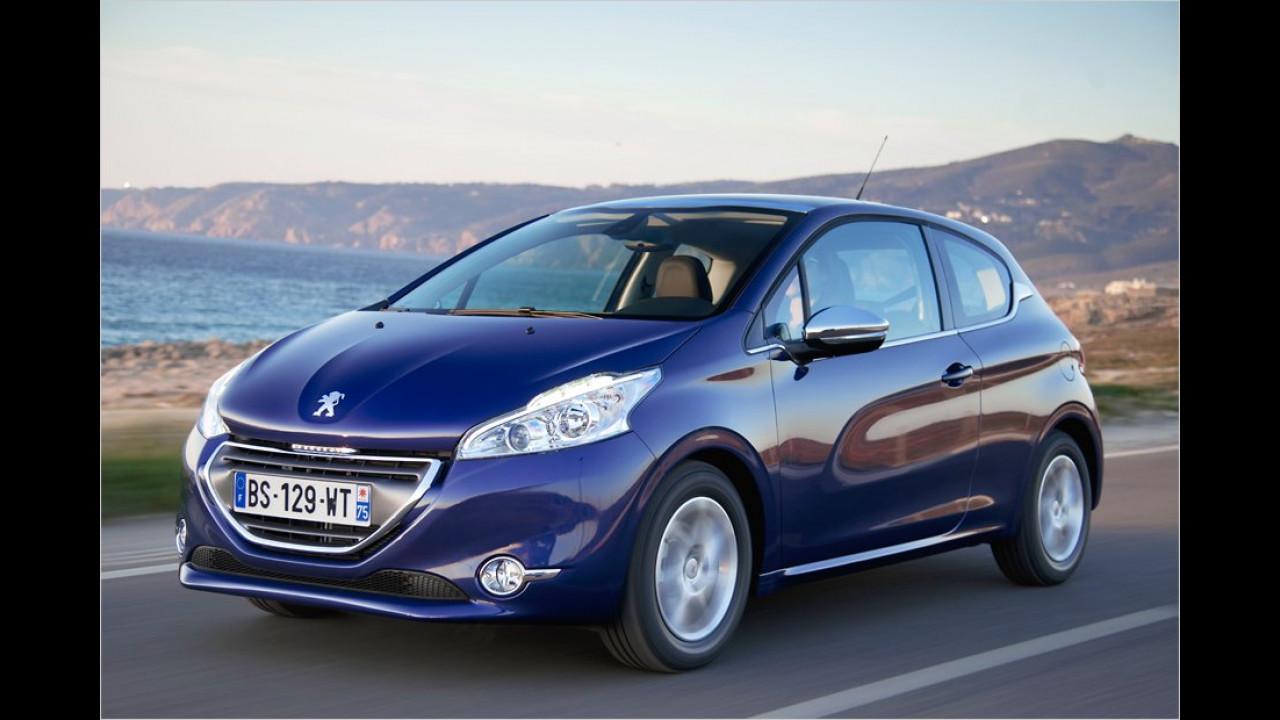 April: Peugeot 208