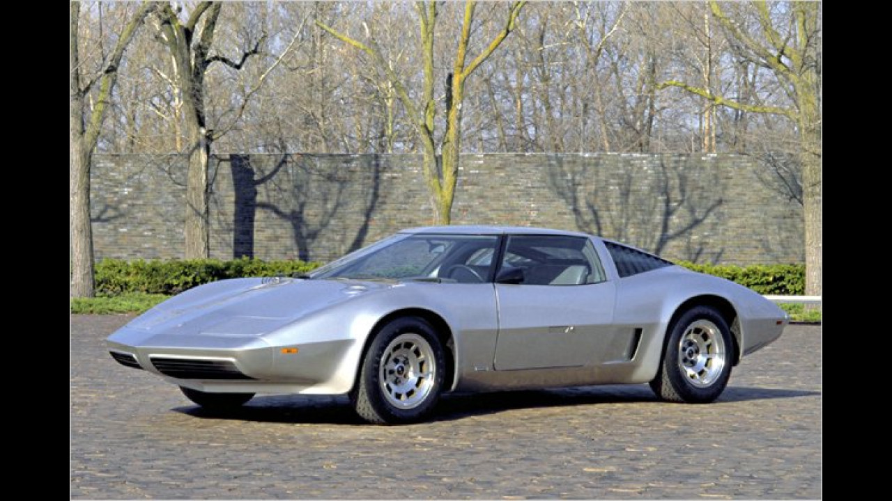 Corvette XP-895 Aerovette Four Rotor (1973)