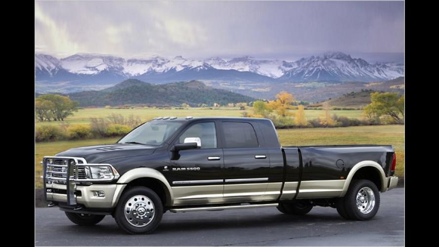 Monster-Pick-up: Chrysler pfeift auf den Öko-Trend