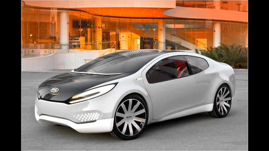 Mehr Licht: Kia stellt Hybrid-Studie Ray vor
