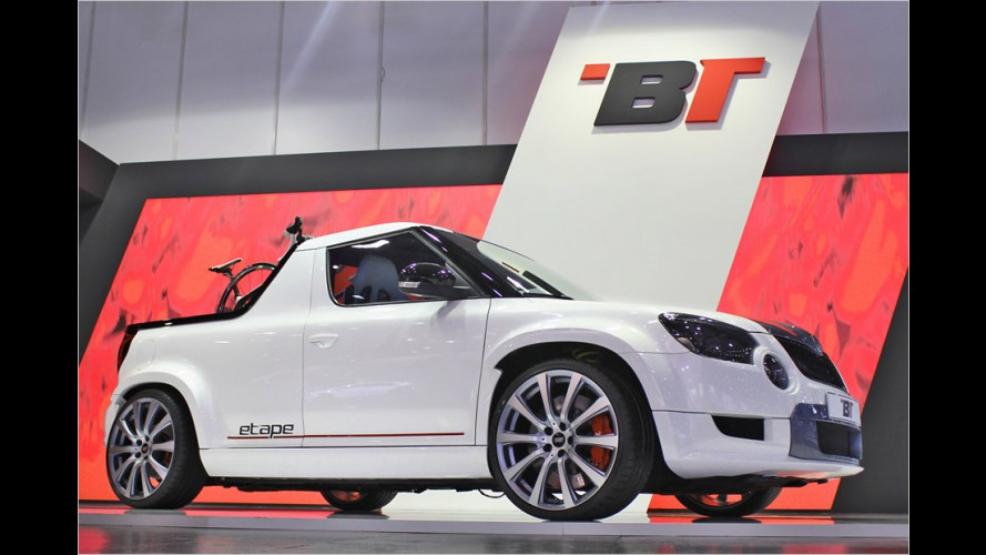 Skoda Yeti als trendiger Pick-up