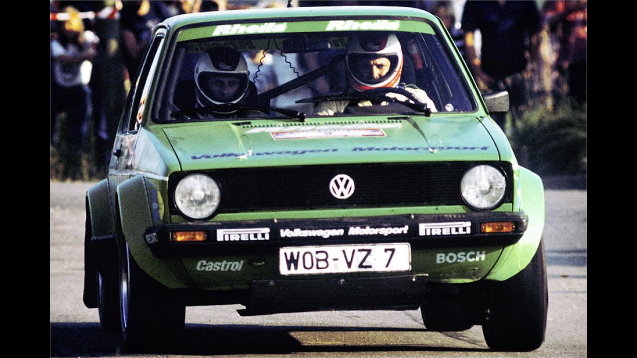 VW im Rallyesport: Der ,Rheila Frosch