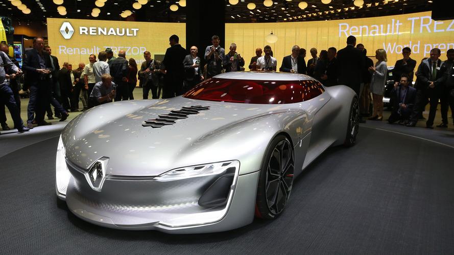 Renault Trezor : la GT électrique du futur !