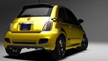 Fiat 500 Stinger 31.1.2012