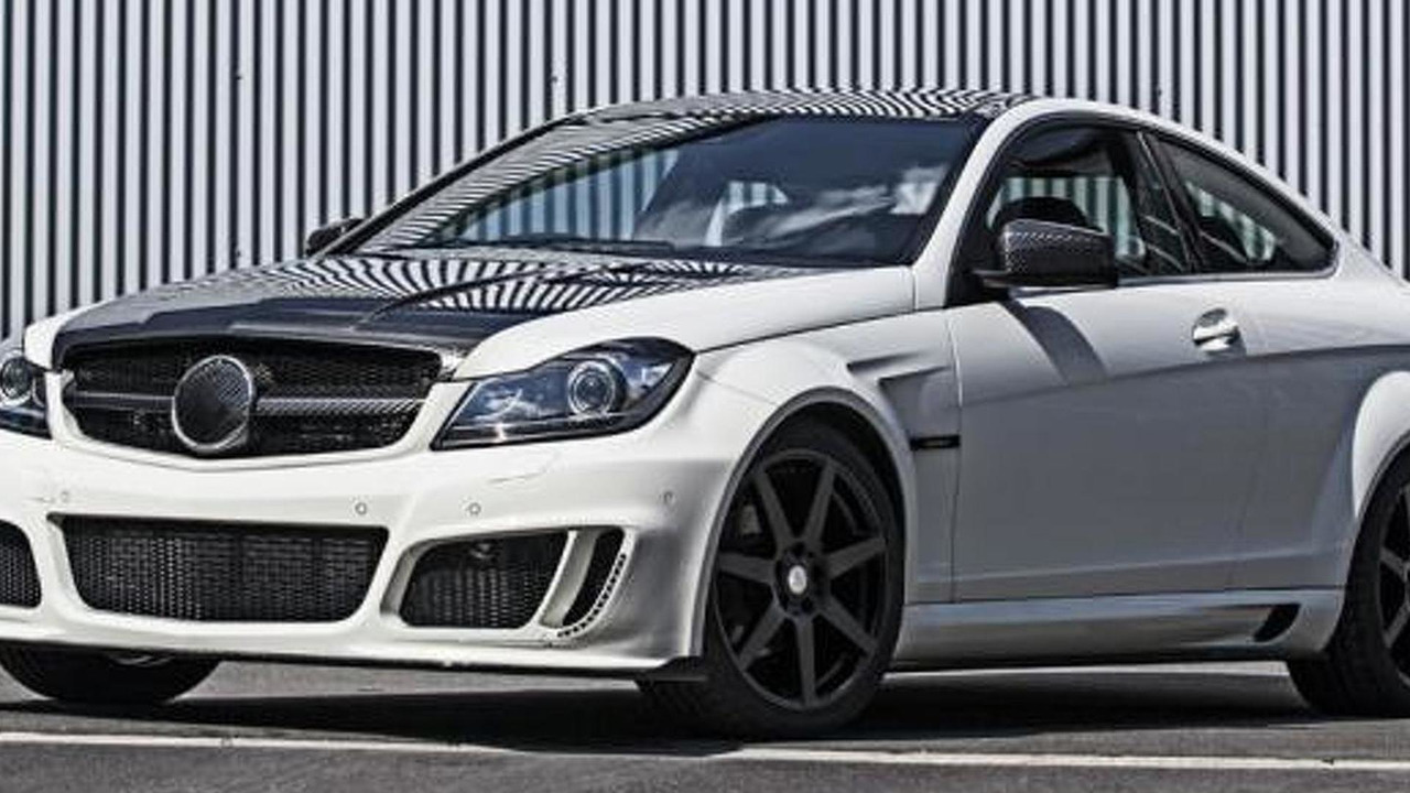Mercedes C-Class Coupe by Mansory 05.9.2012