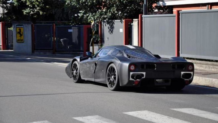 Ferrari Enzo successor spied with minimal camouflage