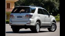 Flagra! Nova Toyota SW4 surge pela primeira vez sem disfarces