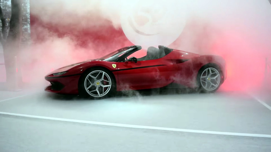 Ferrari J50 debut videos