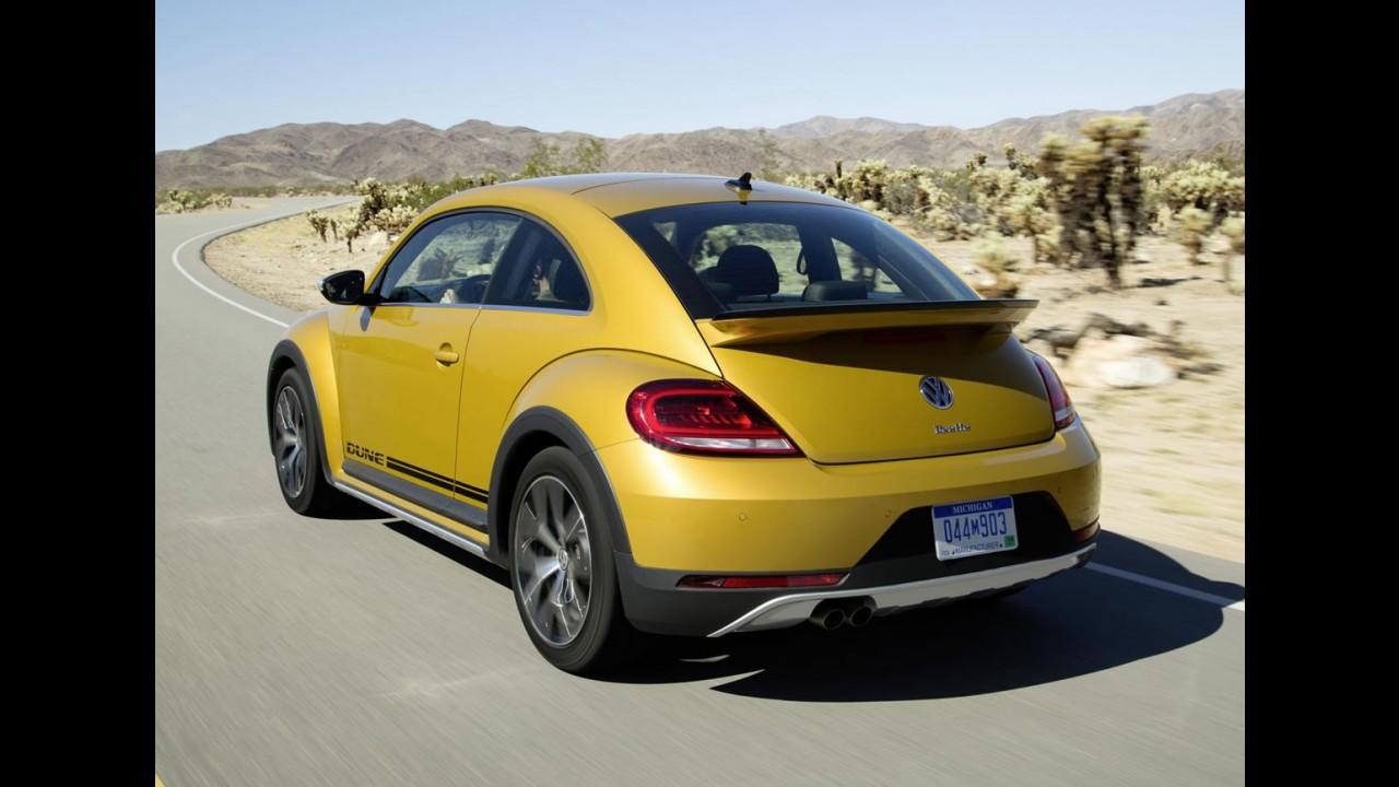 """Volkswagen lança Beetle Dune, a versão """"aventureira"""" do Fusca"""