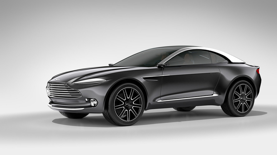 Aston Martin DBX will look significantly different to the Vantage