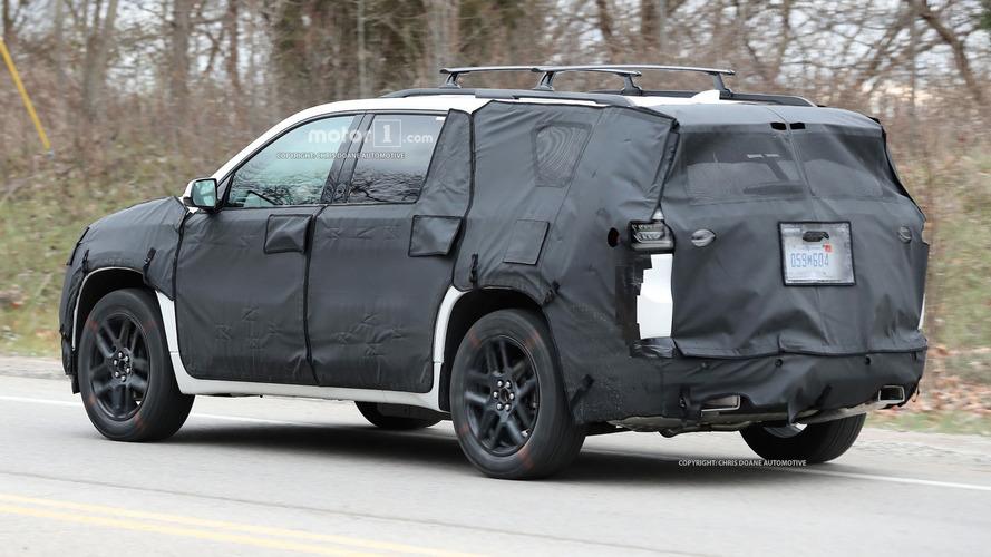 2018 Chevy SUV casus fotoğrafları