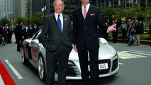 Audi R8 Unveiled by New York Mayor